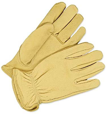BDG 20-1-366-M Deerskin Leather Driver Glove, Medium
