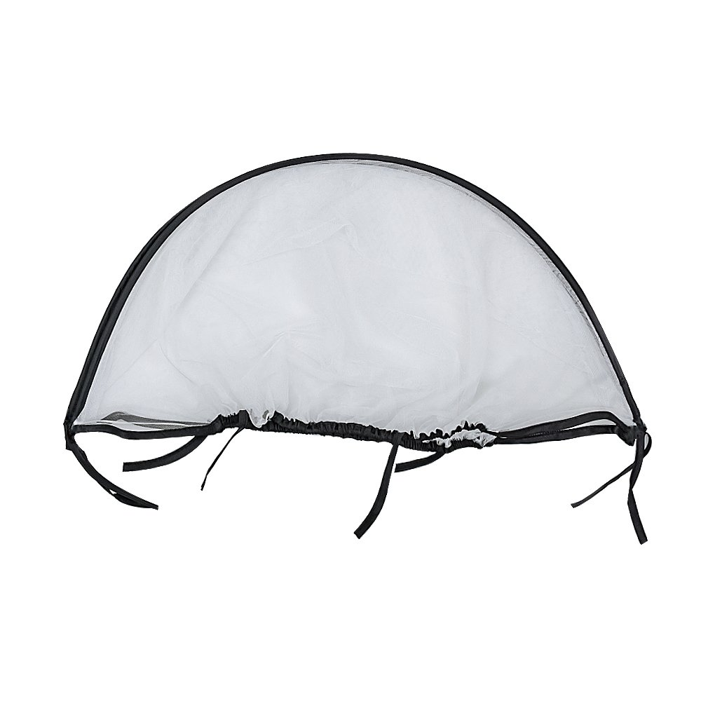 Topwon Universal Full Cover Baby Mosquito Net/Insect Mesh Netting Fits Most Strollers Bassinets, Cradles Chair seat and Car Seats Safe Elastic Design - Black by Topwon (Image #5)