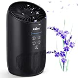 PARTU Hepa Air Purifier - Smoke Air Purifiers for Home with Fragrance Sponge - 100% Ozone Free, Lock Button, Removing 99.97% Allergies, Dust, Pollen, Pet Dander, Mold