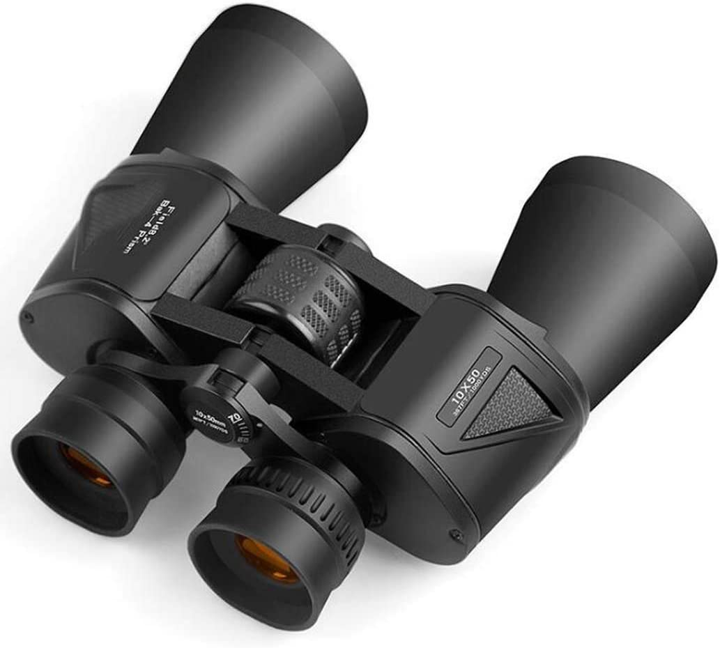ZTYD Professional Binoculars 10X50, Wide Angle Binoculars, HD All Metal Structure and Optical Lens Telescope for Hunting Stargazing, Anti-Pressure and Shockproof 51eabh5z3FL