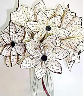 Amazon plantshed leilani flower hand delivery in nyc local a dozeni love yous 12 paper flowers custom gift wedding mightylinksfo