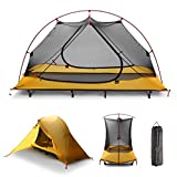 iUcar Portable Camping Tent Cot Off Ground Tent with Carring Bag