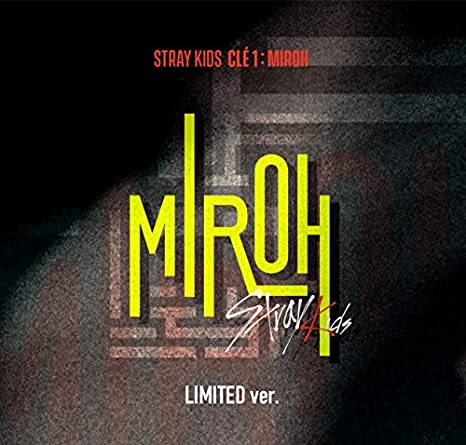 Stray Kids - Clé 1 : MIROH [Limited ver ] (Mini Album) CD+Photobook+3QR  Photocards+Clear Postcard+Photocard+Pre-Order Benefit+Folded Poster+Extra