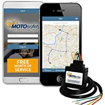 MOTOsafety Wired 3G GPS Car Tracker with ONE Month of Service, Vehicle Tracker, GPS Car Tracker and Tracking Device with Driving Reports, Vehicle Maintenance MWAAS1P1
