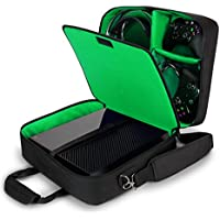 USA Gear Xbox One/Xbox One X Travel Case Carrying Bag for...