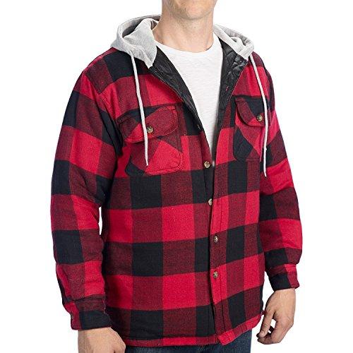 Quilt Sweatshirt Jacket - 1