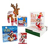 Elf on the Shelf: Boy Scout Elf (Blue Eyed) with Elf Pets: Reindeer and Polar Pattern Set of Elf and Reindeer
