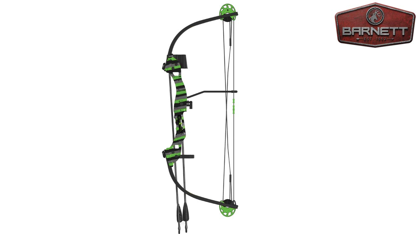 Barnett 1278 Tomcat 2 Compound Bow, Ages 8-12 Years Old by Barnett
