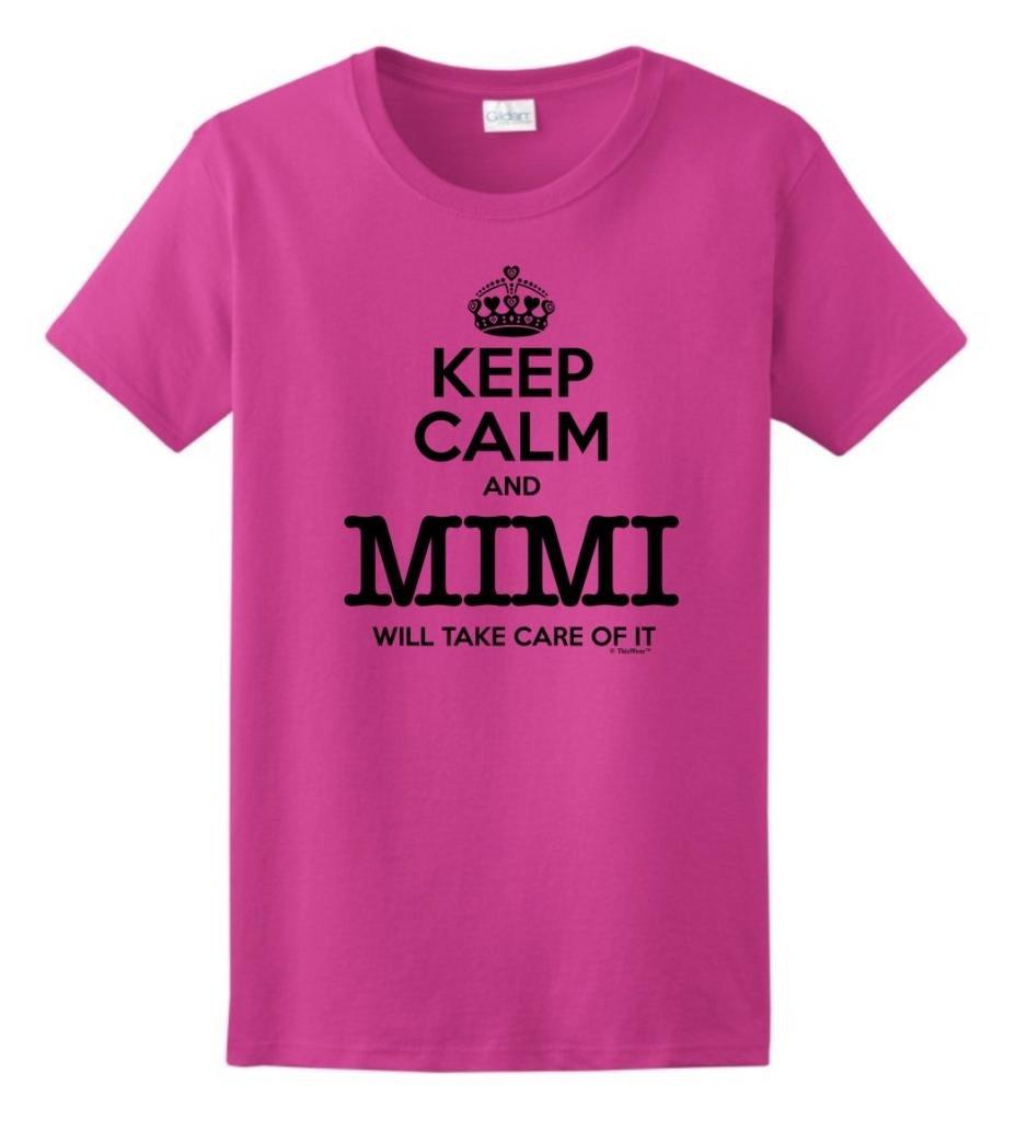 Keep Calm And Mimi Will Take Care Of It Grandma T Shirt 2376
