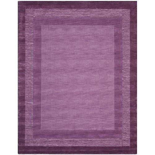 Safavieh Impressions Collection IM821A Handmade Fuchsia and Purple Premium Wool Area Rug (7