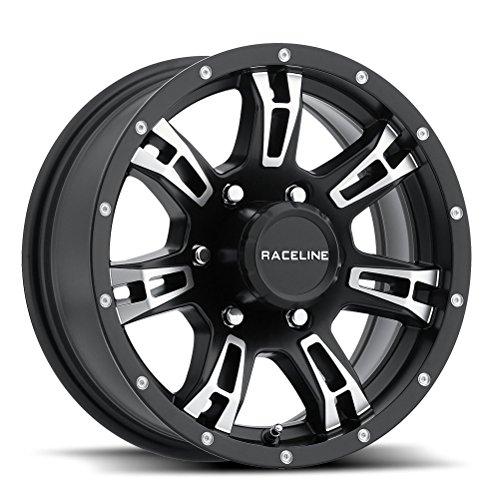 Raceline By Allied Wheel,15x6 840 Arsenal Aluminum Trailer Wheel 6x5.50