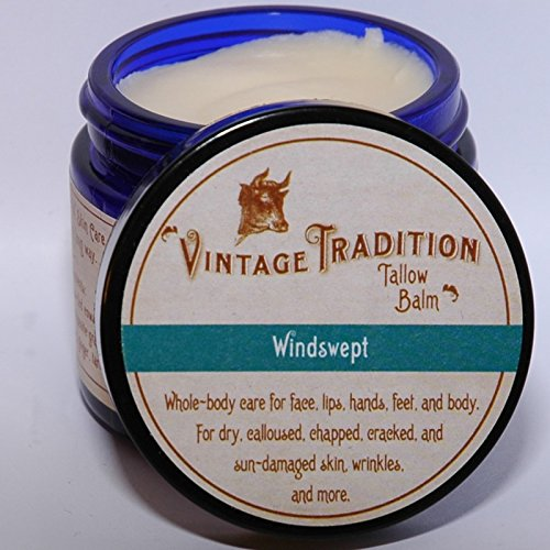 Price comparison product image Vintage Tradition Windswept Tallow Balm, 100% Grass-Fed, 2 Oz