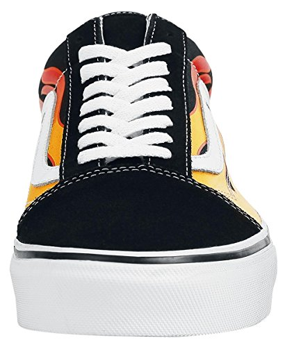 Vans U Old Skool - Zapatillas, Unisex Adulto Flame