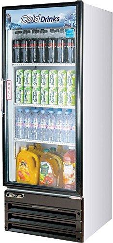 Turbo Air TGM-11RV-N6, 1 Door, Glass Swing Door Refrigerator -