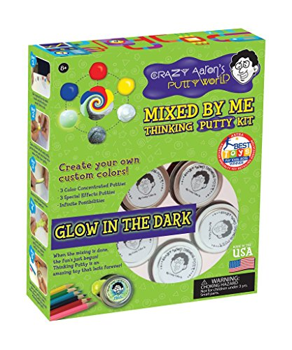 Crazy Aaron's Thinking Putty, Mixed By Me Thinking Putty Kit