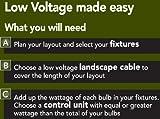 Moonrays 95433 300-Watt Power Pack with Sensor