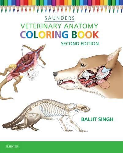Veterinary Anatomy Coloring Book -