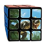 AVABAODAN 3d Dinosaur Rubik's Cube 3D Printed 3x3x3 Magic Square Puzzles Game Portable Toys-Anti Stress For Anti-anxiety Adults Kids