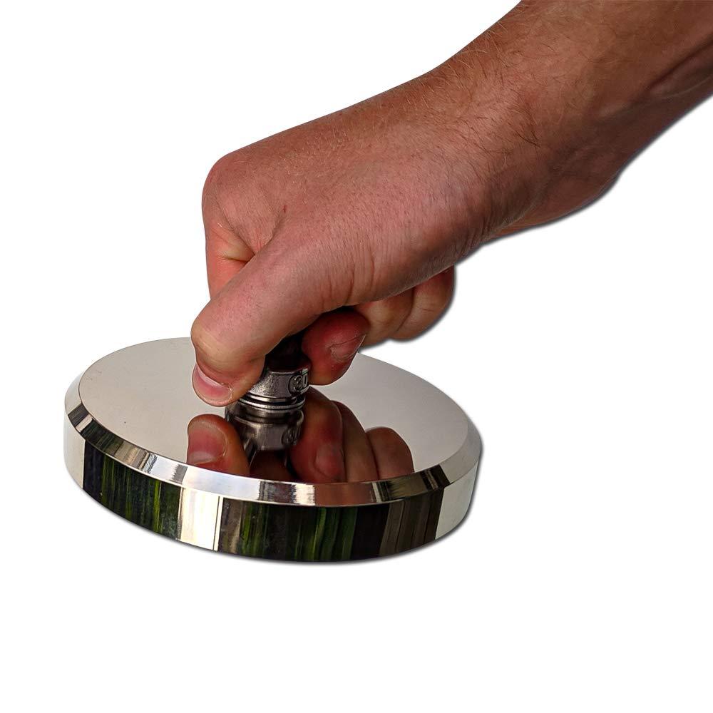 BakingMon Fliegenfischen Magnetnetz h/ängend Schnalle Magnetnetz Zahnrad Angelwerkzeug 27751