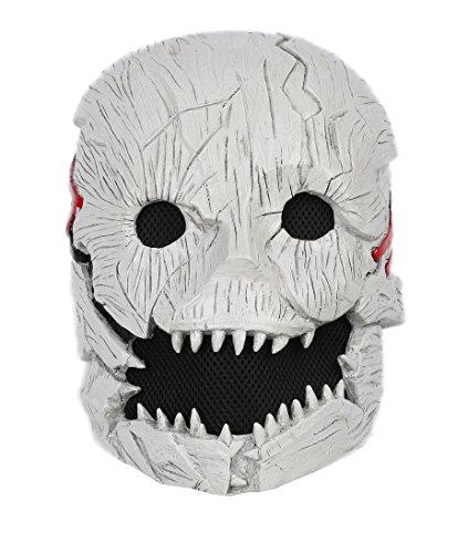 xcoser Dead Daylight Mask Deluxe Half Head Helmet Trapper Adult Cosplay Props by xcoser