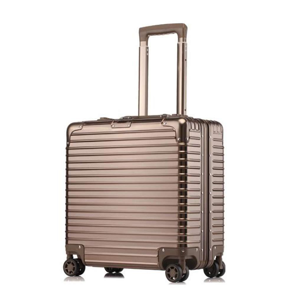 スーツケーストロリー手持ちのキャビン荷物ハードシェルトラベルバッグ軽量4スピナーホイール B07SKH15KZ Titanium