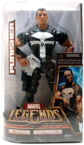 Marvel Legends Icons Series - Punisher - Marvel Legends Icon Series