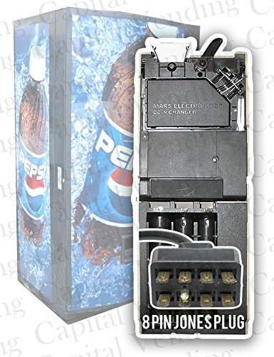 (Refurbished Coin Changer for Pepsi Cola Soda Vending Machines - Includes)