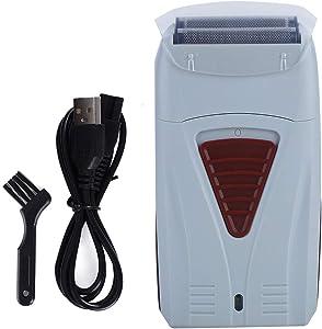 Cortadora de pelo eléctrica recargable para hombres, máquina de afeitar de doble cabeza, maquinilla de afeitar, máquina de corte de cabello