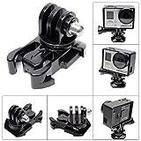 Fantaseal® Advanced 360 Degree Rotary Buckle Clip for GoPro Mount GoPro Buck Clip Mount for GoPro Hero 4 / Session /3+/3/2+SJCAM SJ6000/5000/4000 (2-Pack)