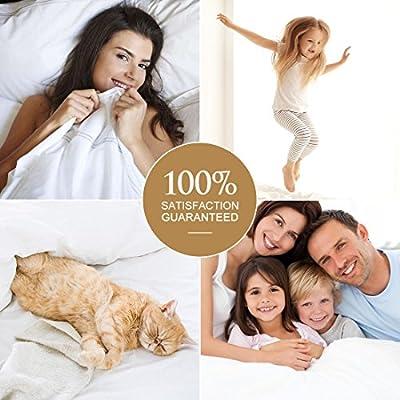 TEKAMON Microfiber Bed Sheet Set Extra