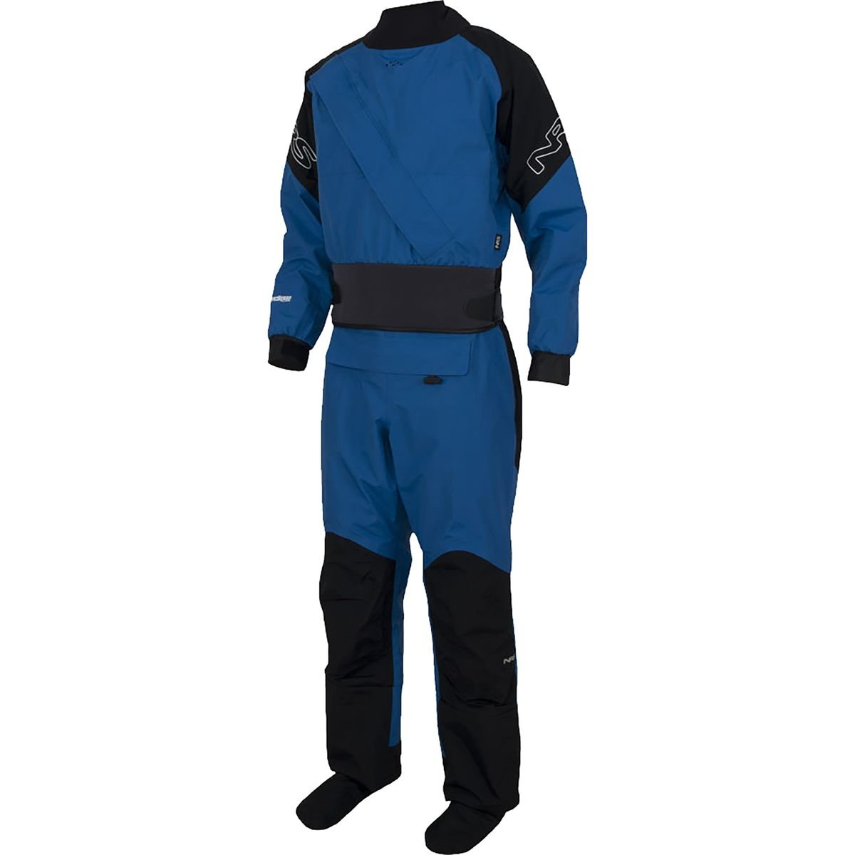 NRS Crux Drysuit - Men's Pants & Shorts MD Blue/Black