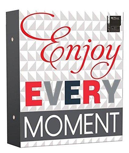 Photo Album 500 Photos 4x6 10x15cm With Slogan Enjoy Every Moment