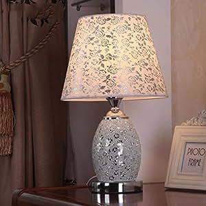 Amazon.com: SED Lámpara de mesa simple y elegante lámpara de ...