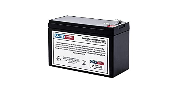RBC17 Compatible Replacement Battery for S6C500USB by UPSBatteryCenter