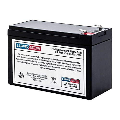 UPSBatteryCenter RBC110 Compatible Replacement Battery for APC Back-UPS ES 550 Usb 120v BE550R-CN