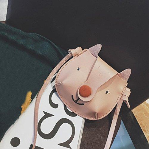 bande Sacs Softback mignon BZLine® sacs Mini Fashion sac Pink main de à Girl bandoulière B à Filles dessinée bandoulière enfants IAA5vYq