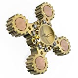 Lahtak Brass Fidget Spinner Metal EDC DIY Toy | Detachable Pivot Spinner Transformer | Bi Tri Tetra - all in one