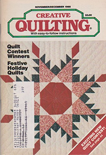 Creative Quilting Magazine November/December 1988 ()
