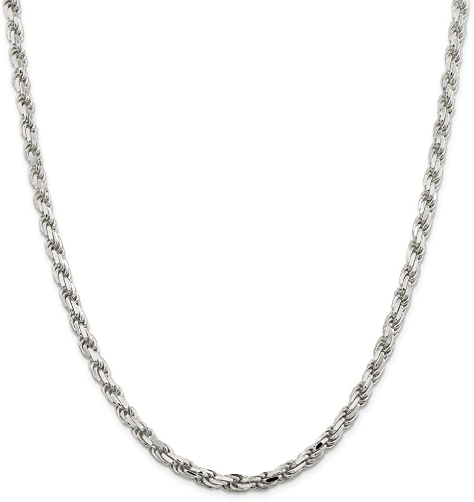 Best Quality Free Gift Box Sterling Silver 5.75mm Fancy Curb Chain