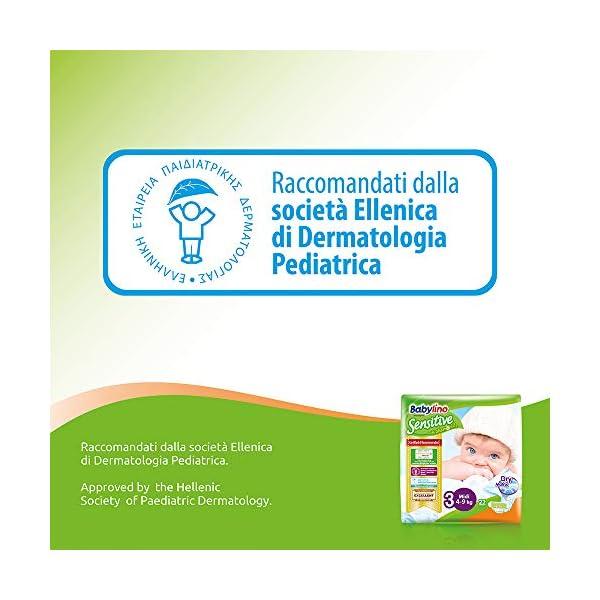Babylino Sensitive Newborn, 168 Pannolini Taglia 1 (2-5Kg) 5
