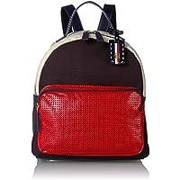 Tommy Hilfiger Women's Julia Backpack (Navy/Red)