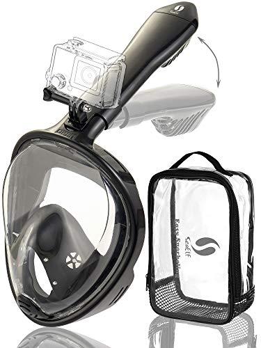 (Full Face Snorkel Mask 2018 Version Foldable Easy Breathe)