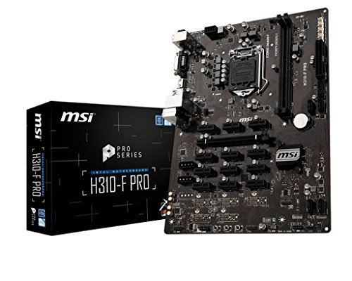 Build My PC, PC Builder, MSI H310-F PRO