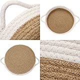 Sea Team 2-Pack Cotton Rope Baskets, 10 x 3