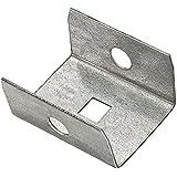 "Lot of 18 Stanley 4/"" x 7//8/"" Corner Braces Steel//Zinc Plated N220-145"
