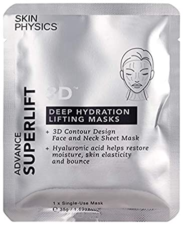 Anti Aging Face Mask Sheets For Women - Enjoy Smooth, Plump And Radiant Skin - Anti Wrinkle Sheet Mask Pack Contains Set of 3 Moisture Face Masks - A Quick and Easy Luxurious At Home Facial Treatment Skin Physics