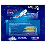 Tampax Pearl Plastic Tampons, Triplepack (Light/Regular/Super) Absorbency, Unscented, 50 Count