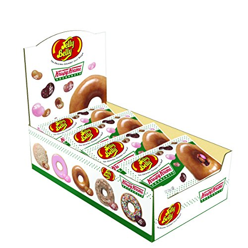Jelly Belly Krispy Kreme Doughnuts Jelly Beans, Assorted Dou
