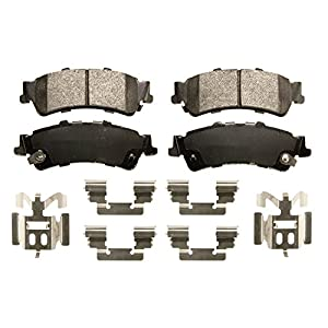 Front Wagner Severe Duty SX1328 Semi-Metallic Disc Pad Set Includes Installation Hardware