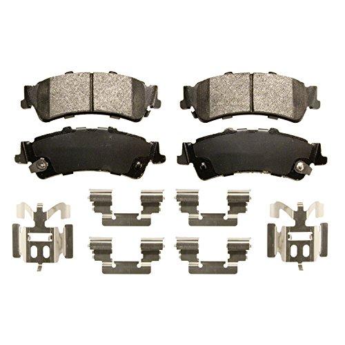 1500 Brake Silverado Pad Chevrolet - Wagner Severe Duty SX792A Semi-Metallic Disc Pad Set Includes Installation Hardware, Rear